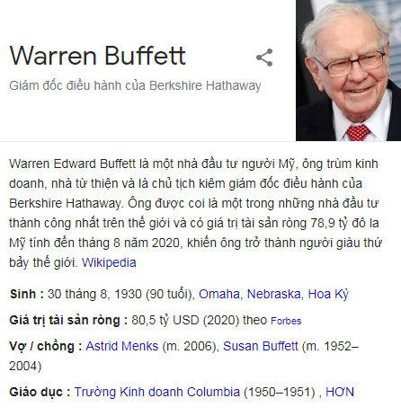 Warrent Buffett